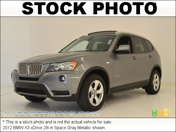 Stock photo for this 2012 BMW X3 xDrive 28i 3.0 Liter DOHC 24-Valve VVT Inline 6 Cylinder 8 Speed steptronic Automatic