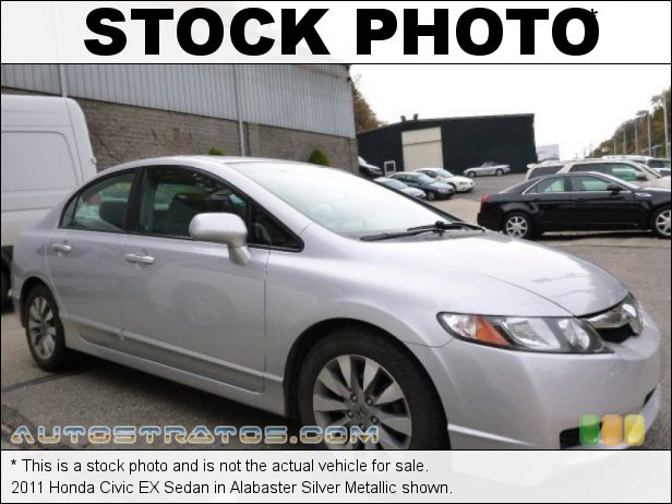 Stock photo for this 2011 Honda Civic EX Sedan 1.8 Liter SOHC 16-Valve i-VTEC 4 Cylinder 5 Speed Automatic