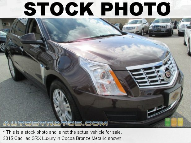 Stock photo for this 2015 Cadillac SRX Luxury 3.6 Liter SIDI DOHC 24-Valve VVT V6 6 Speed Automatic