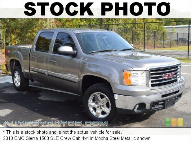 Stock photo for this 2013 GMC Sierra 1500 SLE Crew Cab 4x4 5.3 Liter Flex-Fuel OHV 16-Valve VVT Vortec V8 6 Speed Automatic