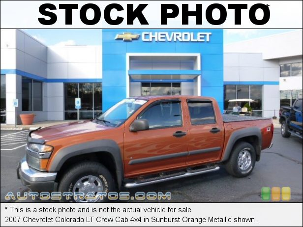 Stock photo for this 2007 Chevrolet Colorado LT Crew Cab 4x4 3.7 Liter DOHC 20-Valve 5 Cylinder 4 Speed Automatic