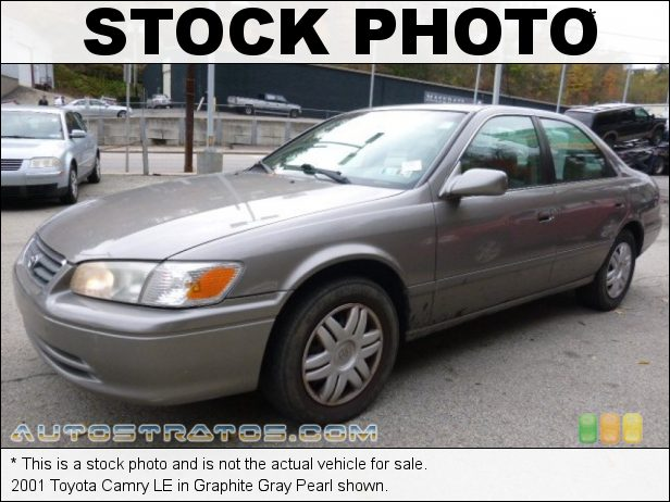 Stock photo for this 2001 Toyota Camry LE 2.2 Liter DOHC 16-Valve 4 Cylinder 4 Speed Automatic