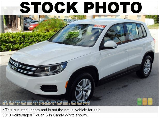 Stock photo for this 2013 Volkswagen Tiguan  2.0 Liter FSI Turbocharged DOHC 16-Valve VVT 4 Cylinder 6 Speed Tiptronic Automatic