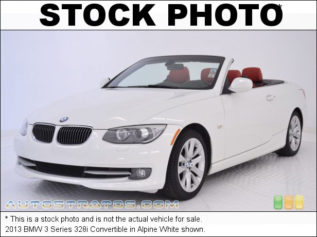 Stock photo for this 2013 BMW 3 Series 328i Convertible 3.0 Liter DOHC 24-Valve VVT Inline 6 Cylinder 6 Speed Automatic