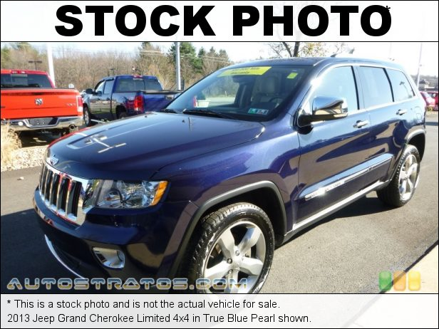 Stock photo for this 2013 Jeep Grand Cherokee Limited 4x4 3.6 Liter DOHC 24-Valve VVT Pentastar V6 5 Speed Automatic