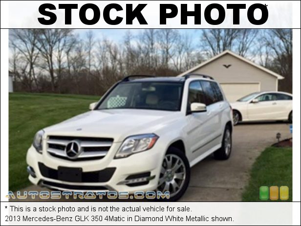 Stock photo for this 2013 Mercedes-Benz GLK 350 4Matic 3.5 Liter DOHC 24-Valve VVT V6 7 Speed Automatic