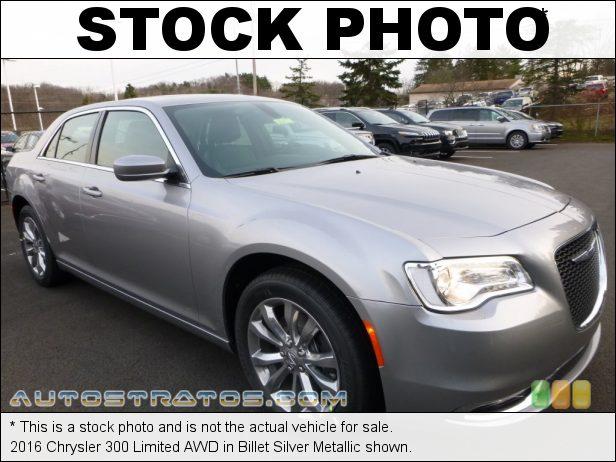Stock photo for this 2016 Chrysler 300 Limited AWD 3.6 Liter DOHC 24-Valve VVT Pentastar V6 8 Speed Automatic