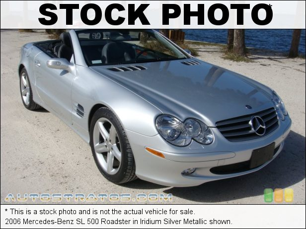 Stock photo for this 2006 Mercedes-Benz SL 500 Roadster 5.0 Liter SOHC 24-Valve V8 7 Speed Automatic