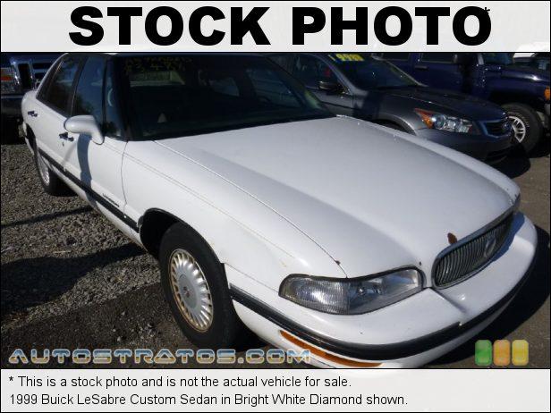 Stock photo for this 1999 Buick LeSabre Custom Sedan 3.8L OHV 12-Valve V6 4 Speed Automatic