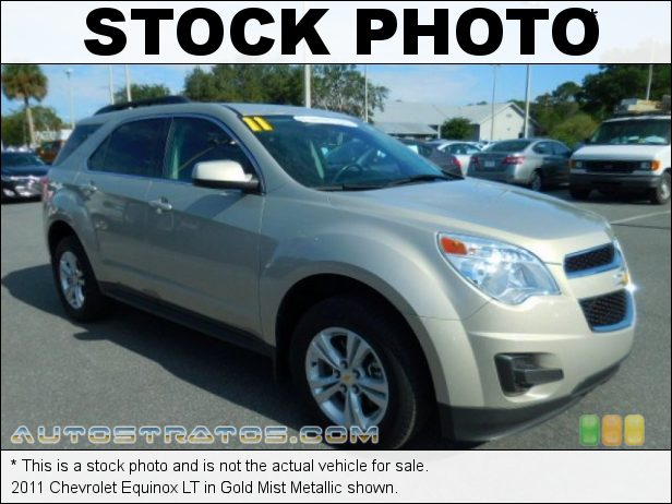 Stock photo for this 2011 Chevrolet Equinox LT 2.4 Liter DI DOHC 16-Valve VVT Ecotec 4 Cylinder 6 Speed Automatic