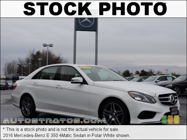 Stock photo for this 2016 Mercedes-Benz E 350 4Matic Sedan 3.5 Liter DI DOHC 24-Valve VVT V6 7 Speed Automatic