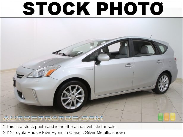 Stock photo for this 2012 Toyota Prius v Five Hybrid 1.8 Liter DOHC 16-Valve VVT-i 4 Cylinder Gasoline/Electric Hybri ECVT Automatic