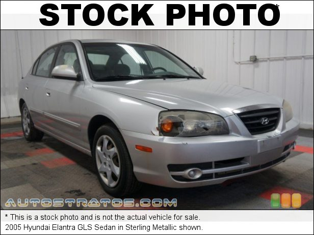 Stock photo for this 2005 Hyundai Elantra GLS Sedan 2.0 Liter DOHC 16 Valve 4 Cylinder 4 Speed Automatic