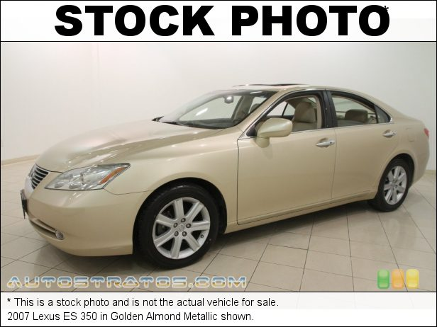 Stock photo for this 2007 Lexus ES 350 3.5L DOHC 24V VVT V6 6 Speed Automatic
