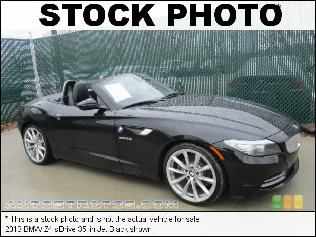 Stock photo for this 2013 BMW Z4 sDrive 35i 3.0 Liter DI TwinPower Turbocharged DOHC 24-Valve VVT Inline 6 C 7 Speed Double Clutch Automatic