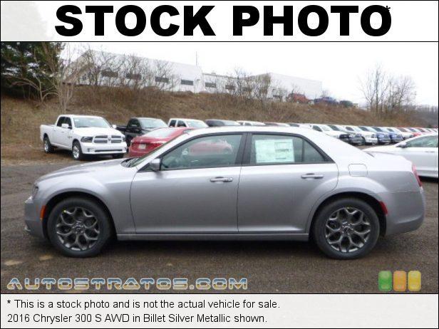 Stock photo for this 2016 Chrysler 300 S AWD 3.6 Liter DOHC 24-Valve VVT Pentastar V6 8 Speed Automatic