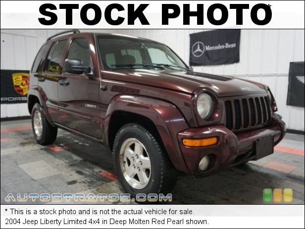 Stock photo for this 2004 Jeep Liberty Limited 4x4 3.7 Liter SOHC 12V Powertech V6 4 Speed Automatic