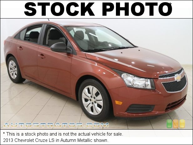 Stock photo for this 2013 Chevrolet Cruze LS 1.8 Liter DOHC 16-Valve VVT ECOTEC 4 Cylinder 6 Speed Automatic