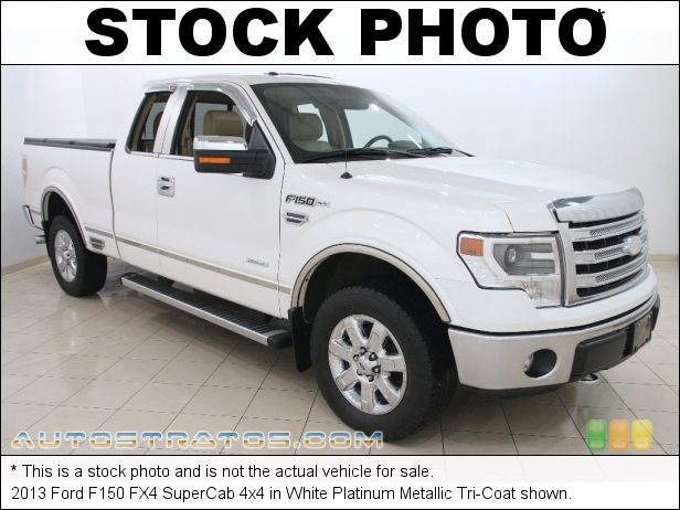 Stock photo for this 2013 Ford F150 SuperCab 4x4 3.5 Liter EcoBoost DI Turbocharged DOHC 24-Valve Ti-VCT V6 6 Speed Automatic
