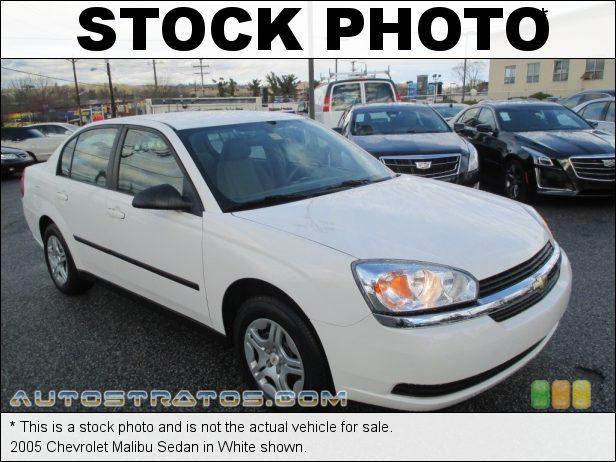 Stock photo for this 2005 Chevrolet Malibu Sedan 2.2L DOHC 16V Ecotec 4 Cylinder 4 Speed Automatic