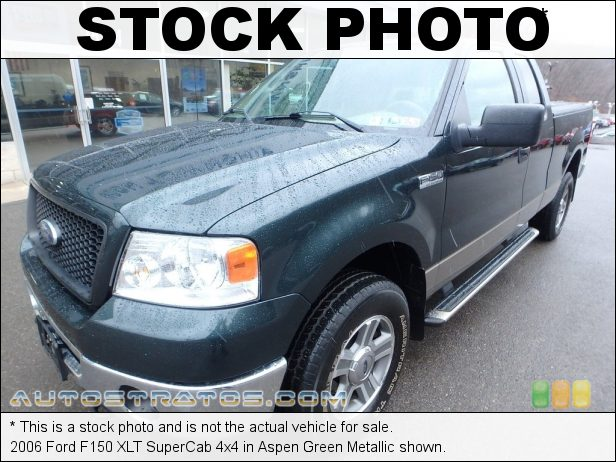 Stock photo for this 2006 Ford F150 SuperCab 4x4 5.4 Liter SOHC 24-Valve Triton V8 4 Speed Automatic