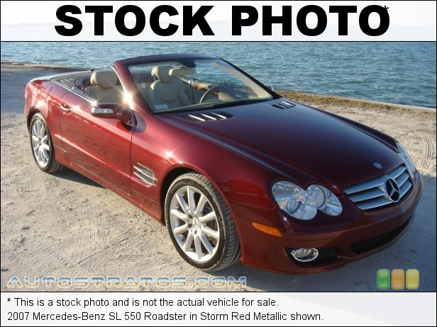 Stock photo for this 2007 Mercedes-Benz SL 550 Roadster 5.5 Liter DOHC 32-Valve V8 7 Speed Automatic