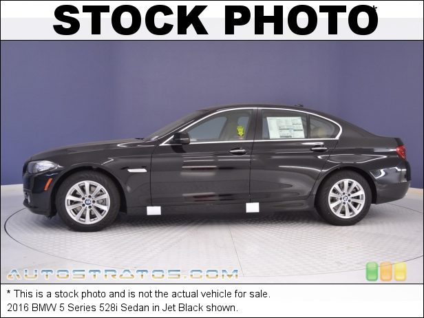 Stock photo for this 2016 BMW 5 Series 528i Sedan 2.0 Liter DI TwinPower Turbocharged DOHC 16-Valve VVT 4 Cylinder 8 Speed Automatic