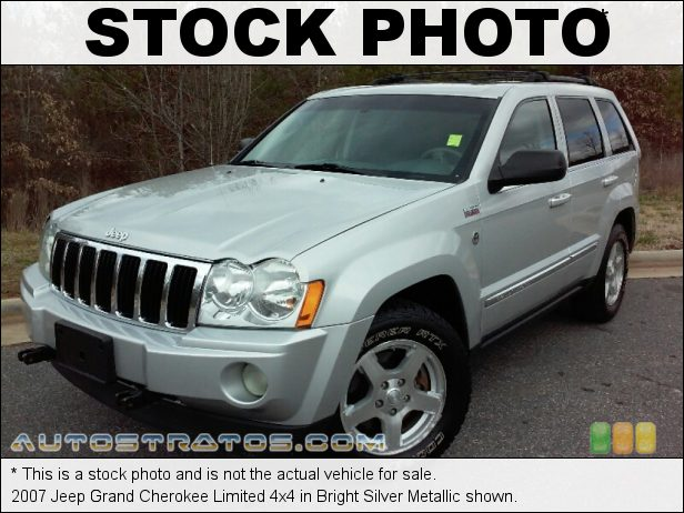 Stock photo for this 2004 Jeep Grand Cherokee Overland 4.7 Liter SOHC 16V V8 5 Speed Automatic