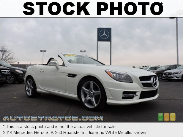 Stock photo for this 2014 Mercedes-Benz SLK 250 Roadster 1.8 Liter GDI Turbocharged DOHC 16-Valve VVT 4 Cylinder 7 Speed Automatic
