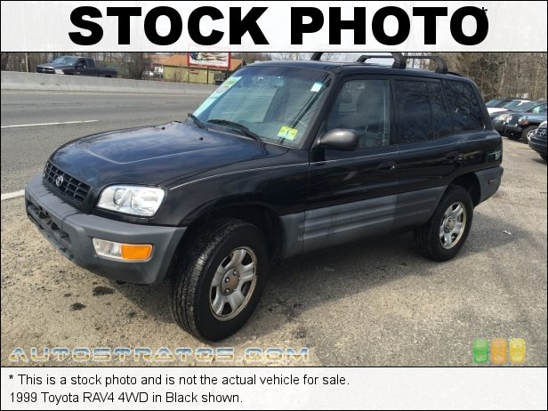 Stock photo for this 1999 Toyota RAV4 4WD 2.0 Liter DOHC 16-Valve 4 Cylinder 4 Speed Automatic