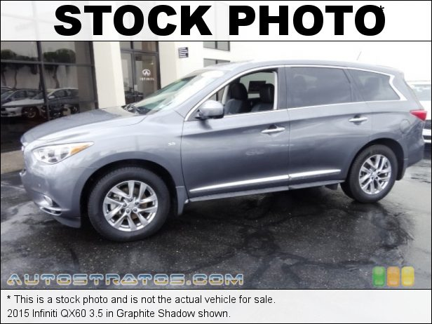 Stock photo for this 2019 Infiniti QX60 Luxe 3.5 Liter DOHC 24-Valve CVTCS V6 CVT Automatic