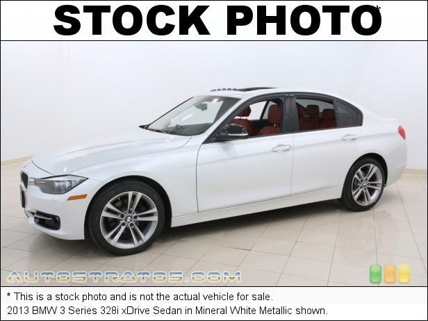 Stock photo for this 2013 BMW 3 Series 328i xDrive Sedan 2.0 Liter DI TwinPower Turbocharged DOHC 16-Valve VVT 4 Cylinder 8 Speed Automatic