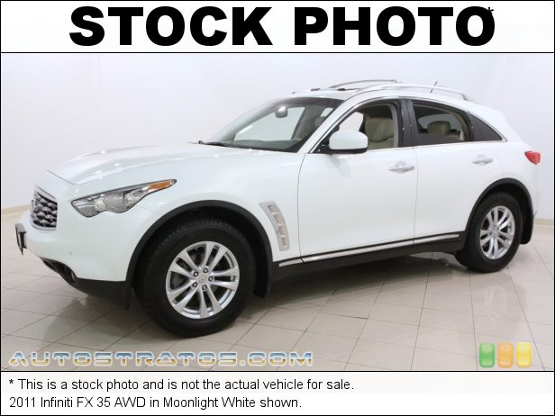 Stock photo for this 2011 Infiniti FX 35 AWD 3.5 Liter DOHC 24-Valve CVTCS V6 7 Speed Automatic