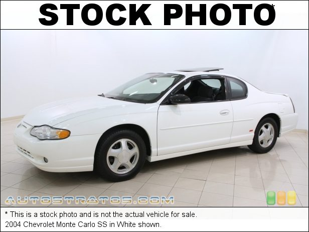 Stock photo for this 2004 Chevrolet Monte Carlo SS 3.8 Liter OHV 12-Valve 3800 Series II V6 4 Speed Automatic