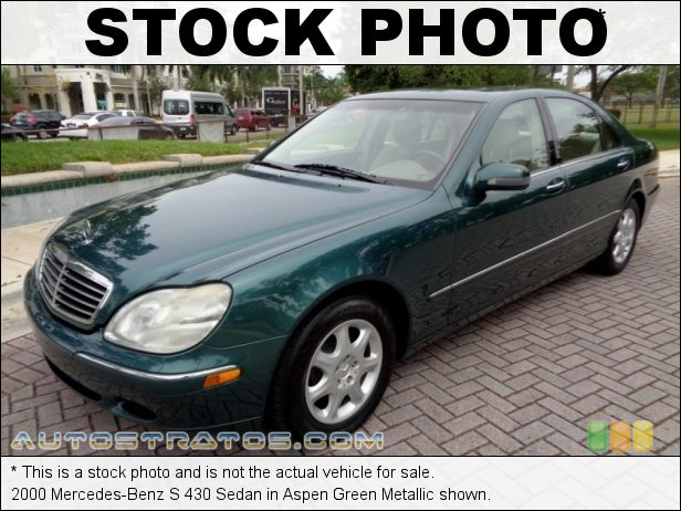 Stock photo for this 2000 Mercedes-Benz S 430 Sedan 4.3L SOHC 24V V8 5 Speed Automatic