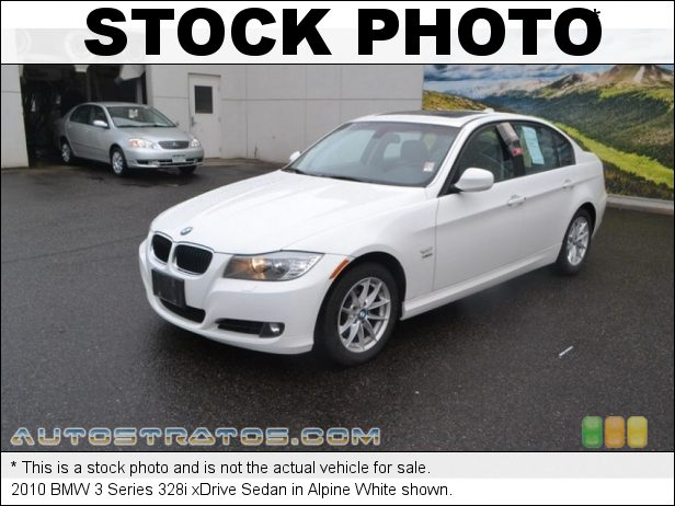 Stock photo for this 2010 BMW 3 Series 328i xDrive Sedan 3.0 Liter DOHC 24-Valve VVT Inline 6 Cylinder 6 Speed Steptronic Automatic