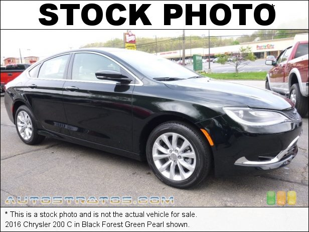 Stock photo for this 2016 Chrysler 200 C 2.4 Liter DOHC 16-Valve MultiAir 4 Cylinder 9 Speed Automatic