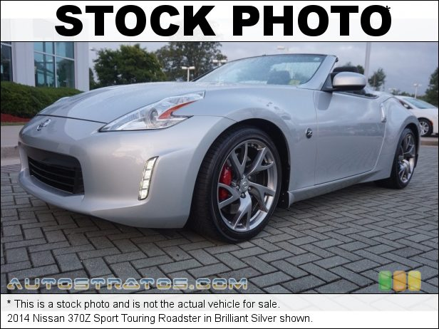 Stock photo for this 2014 Nissan 370Z Sport Touring Roadster 3.7 Liter DOHC 24-Valve CVTCS V6 7 Speed Automatic