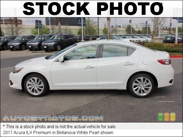 Stock photo for this 2017 Acura ILX  2.4 Liter DI DOHC 16-Valve i-VTEC 4 Cylinder 8 Speed DCT Automatic