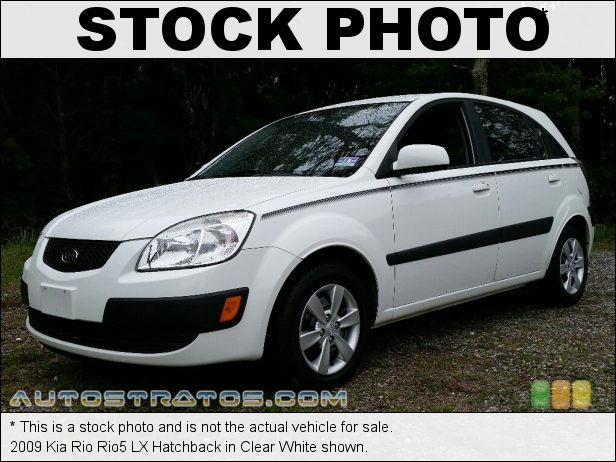 Stock photo for this 2009 Kia Rio Rio5 Hatchback 1.6 Liter DOHC 16-Valve CVVT 4 Cylinder 4 Speed Automatic