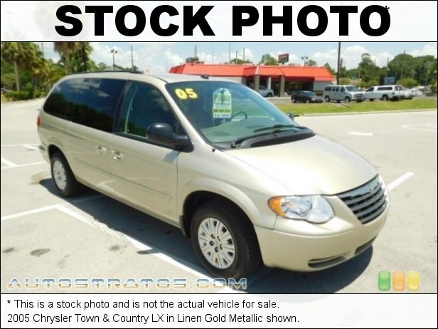 Stock photo for this 2005 Chrysler Town & Country LX 3.3L OHV 12V V6 4 Speed Automatic