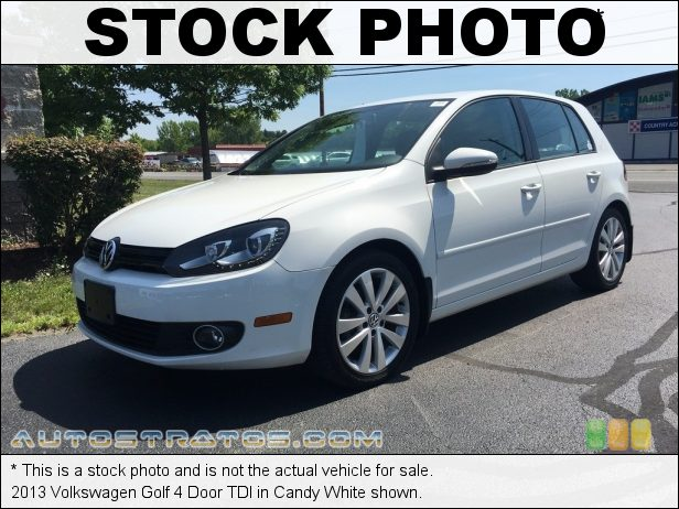 Stock photo for this 2013 Volkswagen Golf 4 Door TDI 2.0 Liter TDI DOHC 16-Valve Turbo-Diesel 4 Cylinder 6 Speed DSG Dual-Clutch Automatic