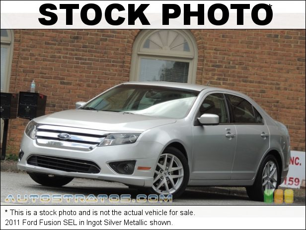 Stock photo for this 2011 Ford Fusion SEL 2.5 Liter DOHC 16-Valve VVT Duratec 4 Cylinder 6 Speed Automatic