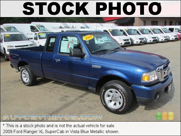 Stock photo for this 2009 Ford Ranger XL SuperCab 2.3 Liter DOHC 16-Valve Duratec 4 Cylinder 5 Speed Automatic