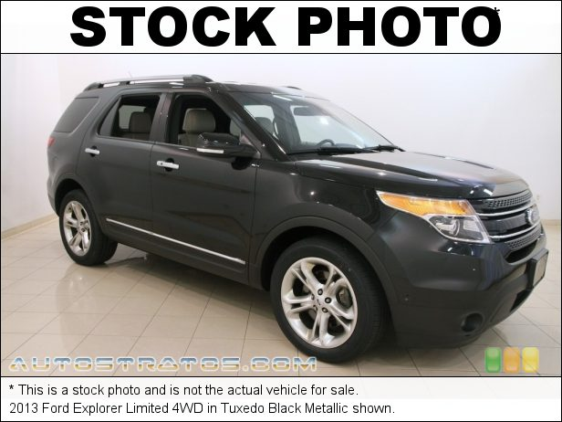 Stock photo for this 2013 Ford Explorer Limited 4WD 3.5 Liter DOHC 24-Valve Ti-VCT V6 6 Speed Automatic