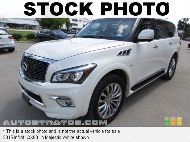 Stock photo for this 2017 Infiniti QX80  5.6 Liter DOHC 32-Valve CVTCS V8 7 Speed ASC Automatic