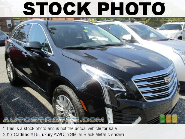 Stock photo for this 2017 Cadillac XT5 Luxury AWD 3.6 Liter DI DOHC 24-Valve VVT V6 8 Speed Automatic