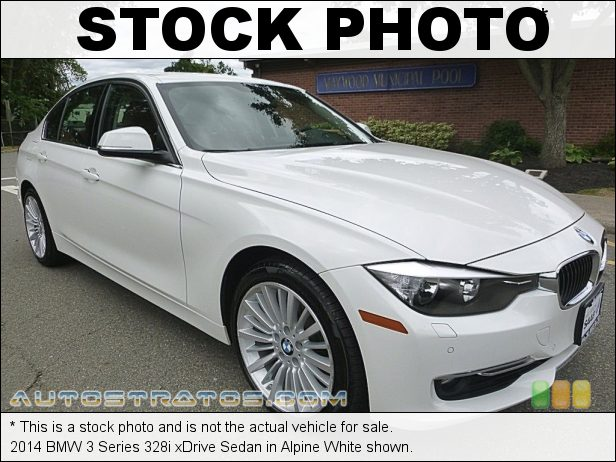 Stock photo for this 2014 BMW 3 Series 328i xDrive Sedan 2.0 Liter DI TwinPower Turbocharged DOHC 16-Valve 4 Cylinder 8 Speed Steptronic Automatic