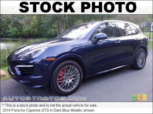Stock photo for this 2014 Porsche Cayenne GTS 4.8 Liter DFI DOHC 32-Valve VVT V8 8 Speed Tiptronic S Automatic