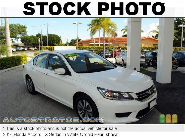 Stock photo for this 2014 Honda Accord LX Sedan 2.4 Liter Earth Dreams DI DOHC 16-Valve i-VTEC 4 Cylinder CVT Automatic